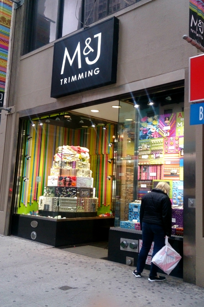 Favorite Trim and fabric stores in NYC