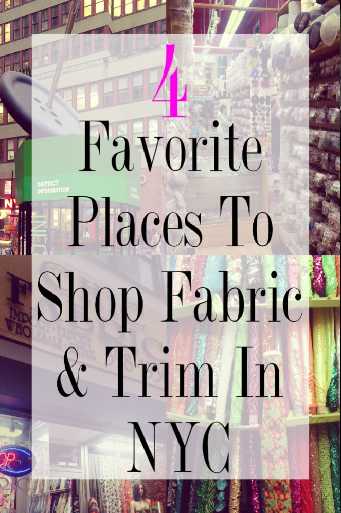 Favorite Trim and fabric stores in NYC10