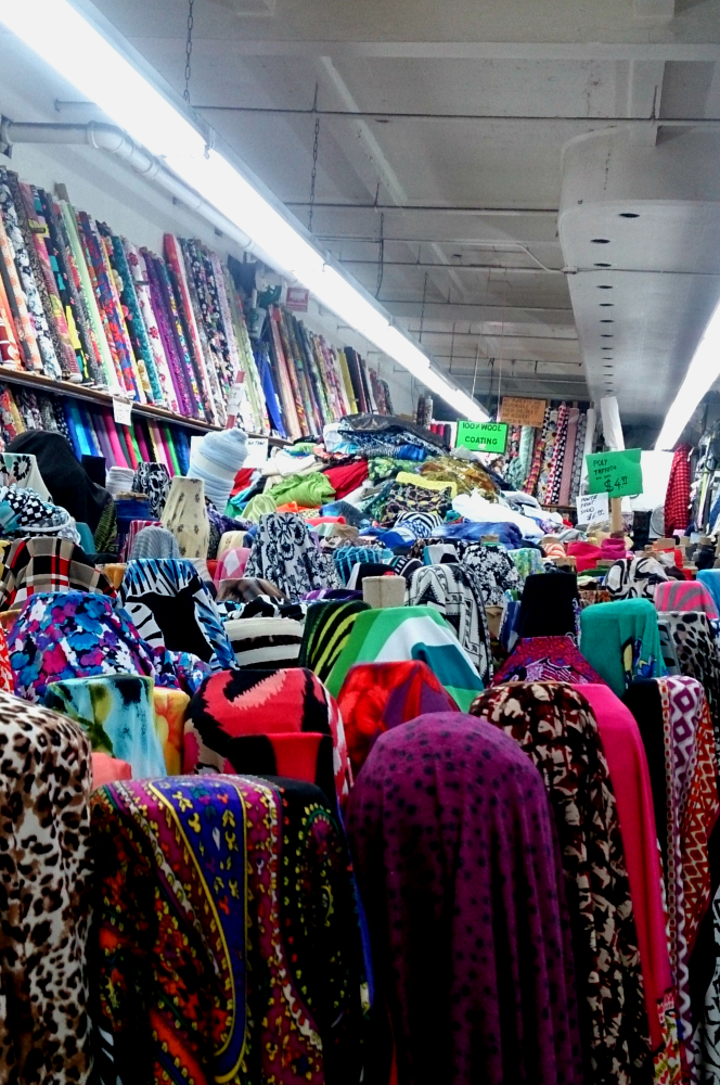 4 favorite places to shop fabric trims in nyc for Fabric sellers