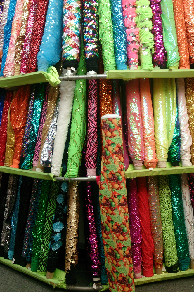 Clothing fabric stores nyc