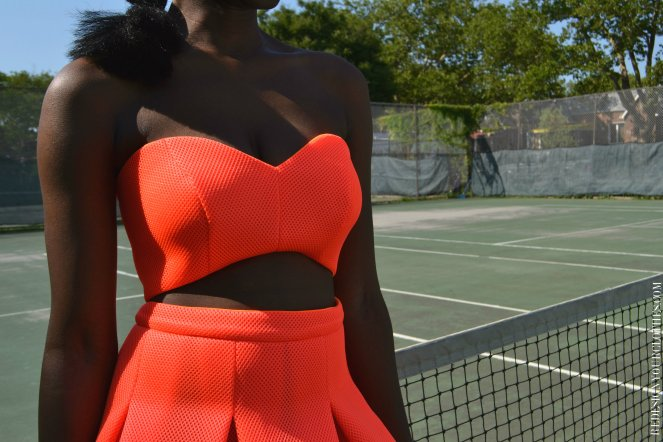 Daniela Tabois DIY Strapless Dress4