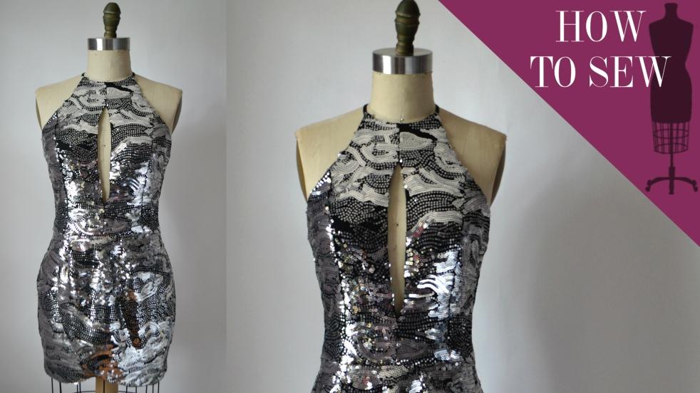 redesignyourclothes-halter-tulip-dress