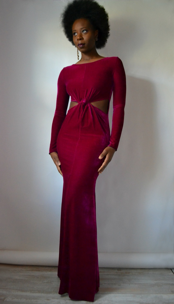 velvet-cutout-twist-waist-maxi-dress2