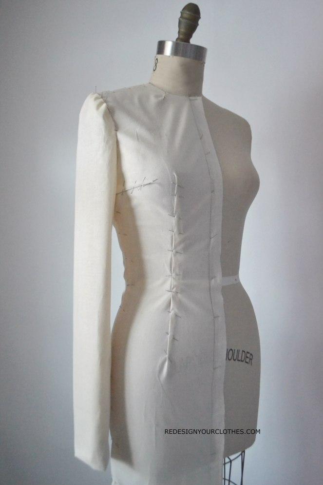 redesignyourclothes-drape-sleeve2