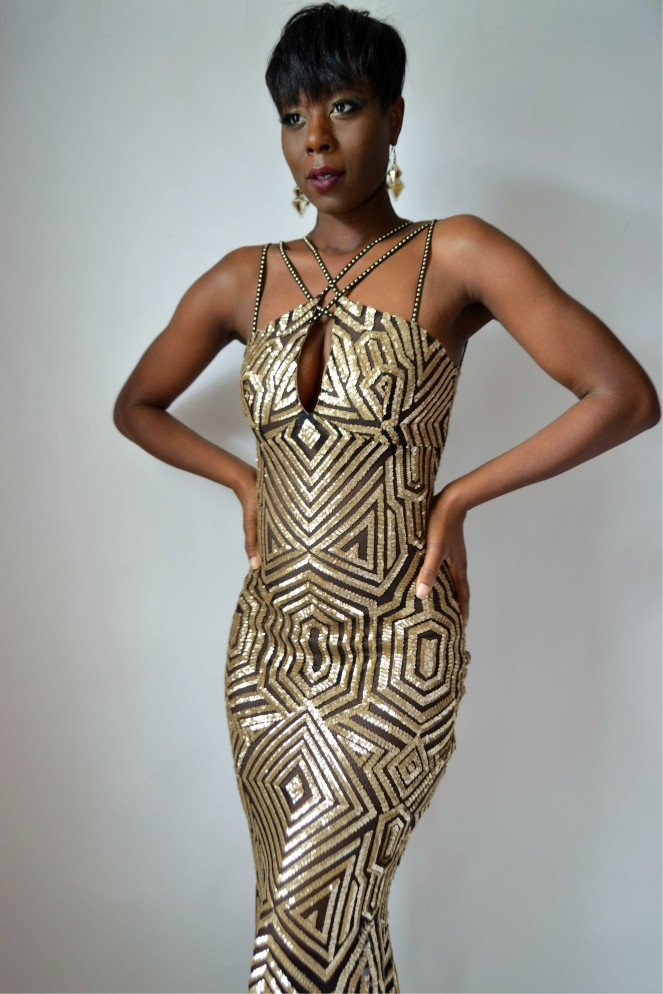 RYC Mermaid Sequin Gown 2