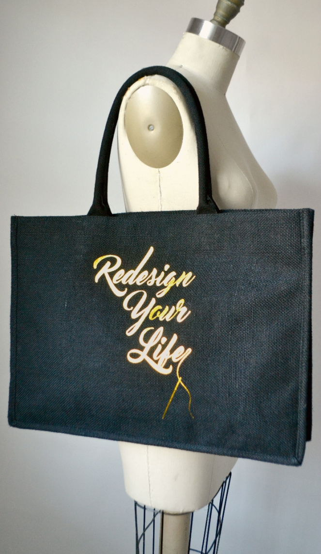 redesign your clothes tote bag black2
